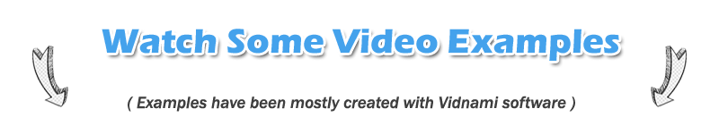 my video production service examples
