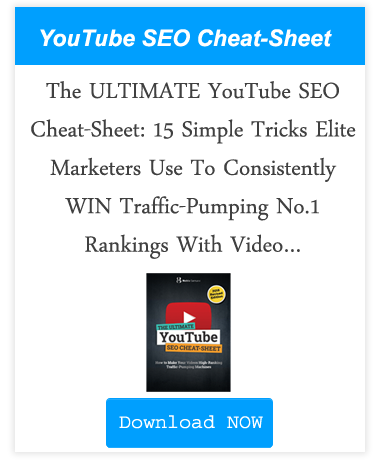 the ultimate seo youtube cheat sheet